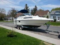 1989 thundercraft 22ft. cuddy cabin inboard