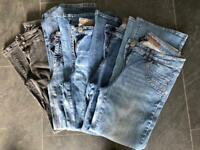 5 Pairs of Bootcut Jeans size 14 R