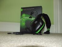 Gioteck XBOX 360 Headset Hardly Used (With Box and User Manual)