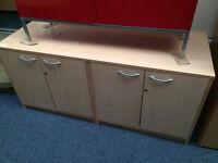 Large Twin Cupboard Maple Cradensa Unit