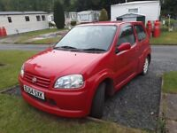 Suzuki Ignis sport only 65000 miles, really nice looking car .
