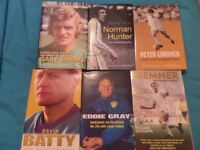 Leeds legends Autobiographies + 2 Extra