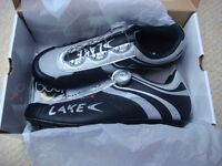 Lake cx175 road cycling shoes NEW size 11/46 purley