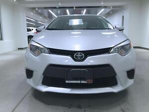 2014 Toyota Corolla LE, BACK UP CAM, HEATED SEATS, NO ACCIDENTS,