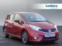 Nissan Note TEKNA STYLE DIG-S (red) 2014-09-30