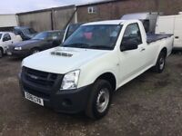 2011 ISUZU RODEO 2x2 SINGLE CAB TOW BAR IN VGC DRIVES LIKE NEW STILL SUPERB ULTRA RLIABLE TRUCK