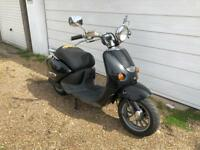 Aprilia habana 70cc reg as 50cc moped scooter vespa honda piaggio
