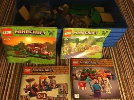 Lego Minecraft Lot