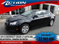 2014 CHEVROLET CRUZE LT TURBO AUTO,AIR,BLUETOOTH, MY LINK