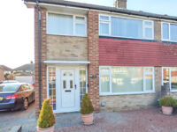 FOR SALE - HOPEWELL DRIVE, GRAVESEND - 3 BED SEMI-DETACHED HOUSE - £355,000
