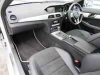 Mercedes-Benz C Class C220 CDI AMG SPORT EDITION PREMIUM (silver) 2014-12-31