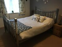 King size metal bed frame from Dreams