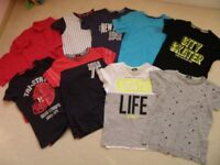 boys T-shirt bundle, age 10-11 years, 10 items, all GEORGE