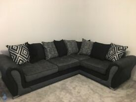 DFS Corner sofa and footstool excellent condition