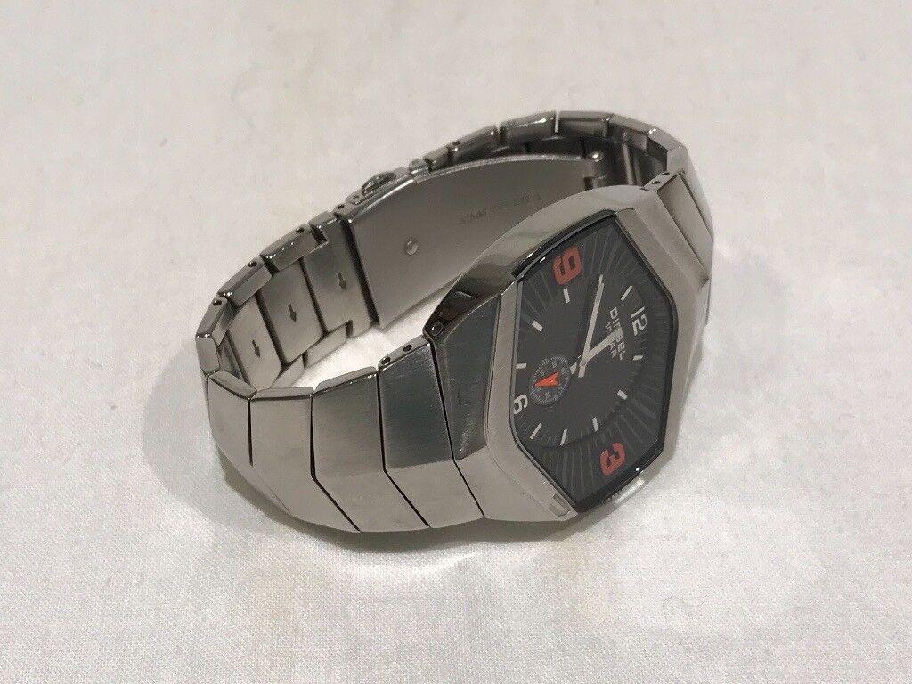 Mens Diesel Stainless Steel Watch - DZ-4075 with Original Box