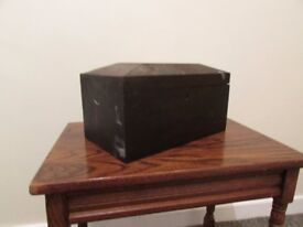 Small wooden antique box collectable need restoration art and decor props display FREE DELIVERY