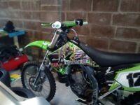 kawasaki motor cross bike