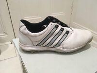 Adidas tour 360 golf shoes, size 10