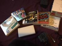 DS Lite, games and accessories