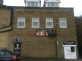 office / retail / shop to let inc (large storage room 2 floors) WHITE ABBEY ROAD, bd8 8dr REAR UNIT