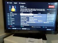 32 inch SONY INTERNET HDMI FREE VIEW USB MEDIA TV ABSOLUTE BARGAIN