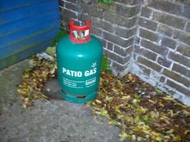 13 kg. Calor patio gas bottle