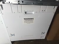 Currys Ce Intergrated Full Size Dishwasher New and Unused