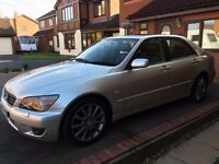 2004 AUTOMATIC LEXUS IS 200 SPORT FULLY LOADED(SAME AS TOYOTA/BMW/MERCEDES/NISSAN/FORD/VAUXHALL/AUDI
