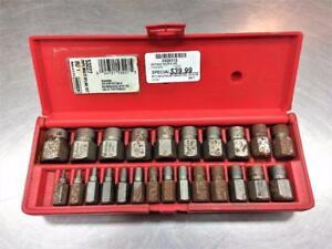 Ensemble extracteur à vis HANSON USA 53227 24 mcx ***Prix réduit***  #F026112