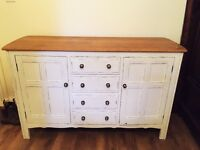 Hand restored Ercol sideboard. Country kitchen / shabby chic style