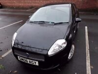 Fiat Punto Grande active 1.2 petrol Black - 1 Owner from 35k, part serv hx, GREAT PRICE