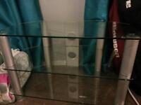 clear glass media unit