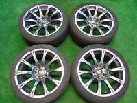 "BMW 5 7 SERIES M5 STYLE 18"" ALLOY WHEELS"