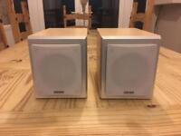 Two 30 watt shelf speakers (60 watt total).