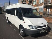 17 SEATER MINIBUS HIRE WITH DRIVER AT ANY TIME