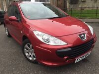 Peugeot 307 1.6 automatic car very low miles