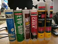 Decorators Caulk white&brown, Kitchen and bathroom sealant Transparent&brown