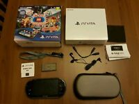 Boxed PS Vita *AS NEW* with Extras