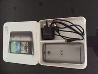 HTC ONE M8, 16GB, GUN METAL GREY, MINT CONDITION