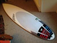 Diverse surfboard hand shaped epoxy 6'2