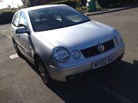 2002 VW POLO SE 1.4 AUTOMATIC