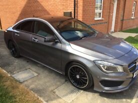 2014 (14) MERCEDES CLA 220 AMG SPORT AUTO.