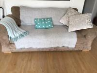 Taupe sofa bed