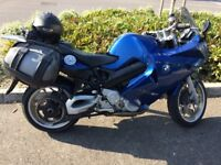 06' plate BMW F800ST ABS