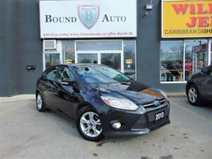 2013 Ford Focus SE H-SEATS B-TOOTH ALLOYS F-LIGHTS NO ACCIDENT