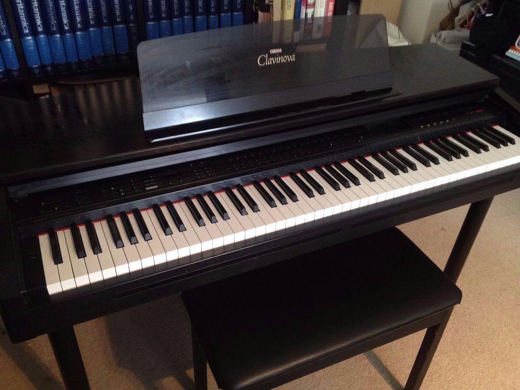 yamaha clavinova cvp 70 digital piano with stool in