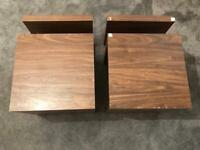 2 x Next wooden side / coffee tables