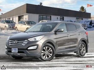 2013 Hyundai Santa Fe Luxury,ONE OWNER,AWD,PANO,REARVIEW CAM,LEA