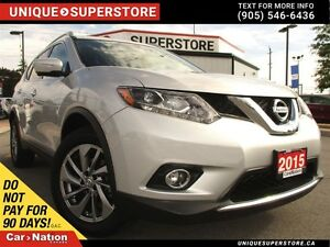 2015 Nissan Rogue SL| AWD| LEATHER| NAVI| PANO ROOF|