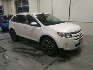 2014 Ford Edge SEL SEL AWD with Navigation, 20 Wheels, Two-Tone.
